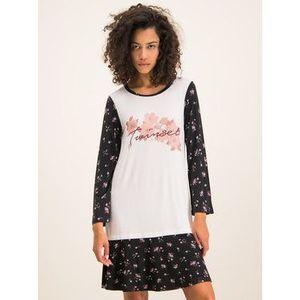 TwinSet Nočná košeľa 192LL2KLL Biela vyobraziť