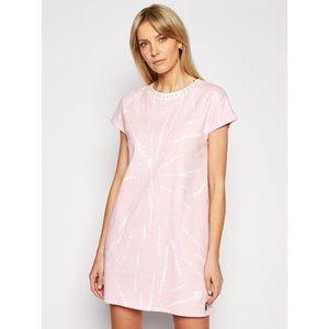 DKNY Nočná košeľa YI2322472 Ružová Regular Fit vyobraziť