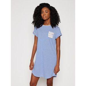 Lauren Ralph Lauren Nočná košeľa ILN32057 Modrá vyobraziť