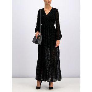 Liu Jo Večerné šaty W69041 J4005 Čierna Regular Fit vyobraziť