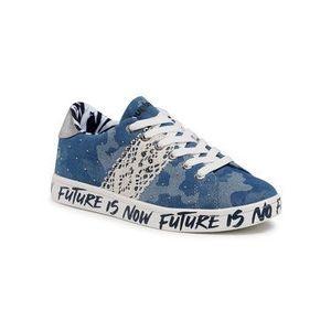 Desigual Sneakersy Cosmic Militar 21SSKD02 Modrá vyobraziť