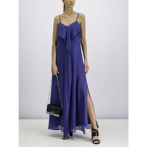 Pennyblack Večerné šaty 12212519 Modrá Regular Fit vyobraziť