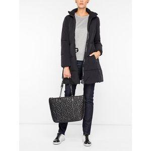 Emporio Armani Zimný kabát 6G2L68 2NUHZ 0999 Čierna Regular Fit vyobraziť