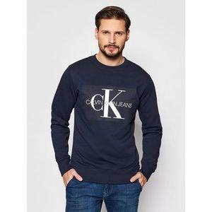 Calvin Klein Jeans Mikina J30J307742 Tmavomodrá Regular Fit vyobraziť