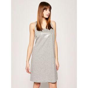 Emporio Armani Underwear Nočná košeľa 164189 9P261 00748 Sivá Regular Fit vyobraziť
