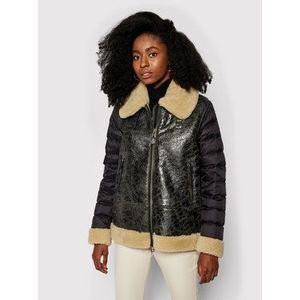 Blauer Kožená bunda Barbara 20WBLDL01142 005793 Čierna Regular Fit vyobraziť