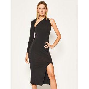 Babylon Večerné šaty MF6070 Čierna Regular Fit vyobraziť