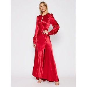 TWINSET Večerné šaty 202TP2141 Červená Regular Fit vyobraziť