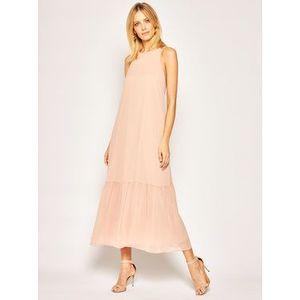 Marella Večerné šaty Scire 32214102 Ružová Slim Fit vyobraziť