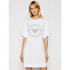 Emporio Armani Underwear Nočná košeľa 164456 1P255 00010 Biela vyobraziť