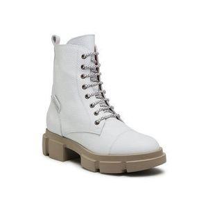 Čižmy/členková obuv biela vyobraziť