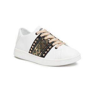 Desigual Sneakersy Cosmic Exotic Gold 20SSKP28 Biela vyobraziť