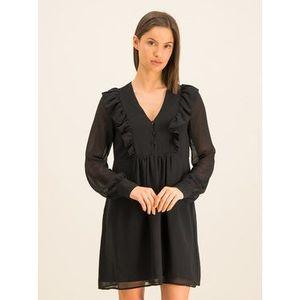 Guess Koktejlové šaty W01K70 W8SL0 Čierna Relaxed Fit vyobraziť
