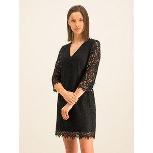 Guess Koktejlové šaty W01K76 WCLT0 Čierna Regular Fit vyobraziť