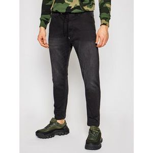 Pepe Jeans Jogger nohavice GYMDIGO New Johnson PM205897 Čierna Relaxed Fit vyobraziť