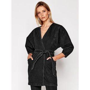 IRO Džínsové šaty Fairline WP33 Čierna Regular Fit vyobraziť