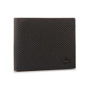 Lacoste Veľká pánska peňaženka Sm Billfold & Id Slot NH2824CE Čierna vyobraziť