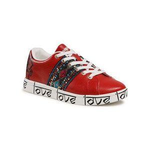 Desigual Sneakersy Cosmic 21SSKP28 Červená vyobraziť