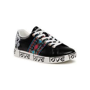 Desigual Sneakersy Cosmic Exotic Indian 21SSKP28 Čierna vyobraziť
