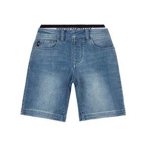 Emporio Armani Džínsové šortky 3H4S12 4DFNZ 0942 Tmavomodrá Regular Fit vyobraziť
