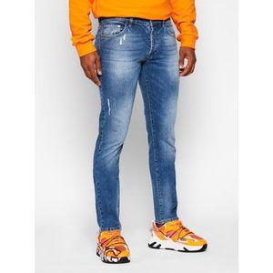 Iceberg Slim fit džínsy 20INP02SL16008 Modrá Slim Fit vyobraziť