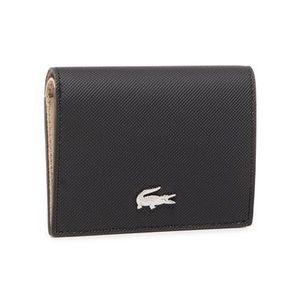 Lacoste Malá dámska peňaženka Double Purse With Coin NF3252AA Čierna vyobraziť