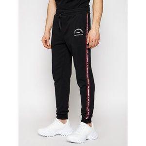 KARL LAGERFELD Teplákové nohavice Sweat 705072 511900 Čierna Regular Fit vyobraziť