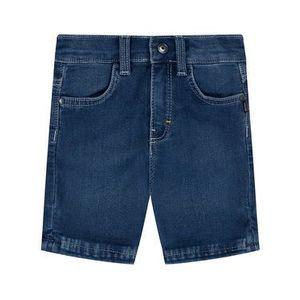 Boss Džínsové šortky J04373 M Tmavomodrá Regular Fit vyobraziť