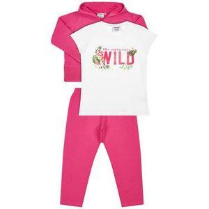 Primigi Súprava tričko, mikina a legíny Queen Of The Jungle 45182541 Ružová Regular Fit vyobraziť