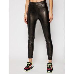 SPANX Kožené nohavice Leather-Like 20282R Čierna Skinny Fit vyobraziť