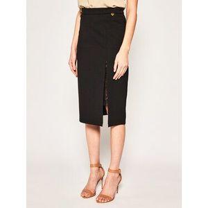 TwinSet Puzdrová sukňa 201TP212C Čierna Regular Fit vyobraziť
