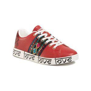 Desigual Sneakersy Cosmic Exotic Indian 20SSKP26 Červená vyobraziť