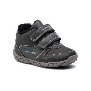 Geox Šnurovacia obuv B Blau' B.B B9436B 0MEAF C9AK4 Sivá vyobraziť