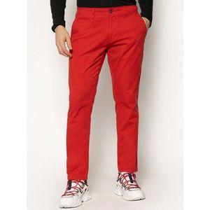Napapijri Bavlnené nohavice Mana 2 NP0A4E32 Červená Regular Fit vyobraziť