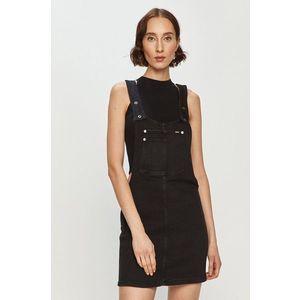 Pepe Jeans - Rifľové šaty Aspen vyobraziť
