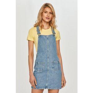 Pepe Jeans - Rifľové šaty vyobraziť