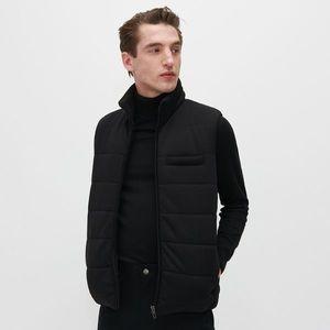 Reserved - Prešívaná vesta so stojačikom - Čierna vyobraziť