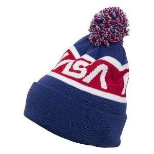 MR.TEE Zimná čiapka NASA Beanie Knitted Farba: blue/red/wht, Veľkosť: one size vyobraziť