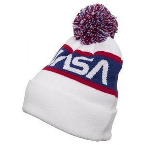 MR.TEE Zimná čiapka NASA Beanie Knitted Farba: wht/blue/red, Veľkosť: one size vyobraziť