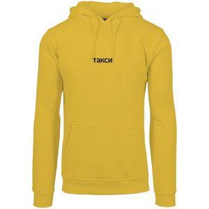 Pánska mikina MR.TEE Taxi Hoody Farba: yellow, Veľkosť: L vyobraziť