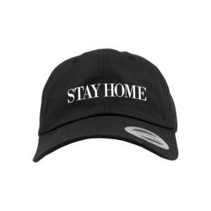 Šiltovka MR.TEE Stay Home EMB Dad Cap Farba: black, Veľkosť: one size vyobraziť