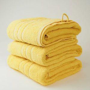 Dobrý Textil Osuška Economy 70x140 - Žlutá vyobraziť