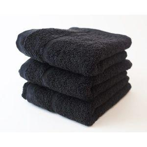 Dobrý Textil Malý uterák Economy 30x50 - Černá vyobraziť