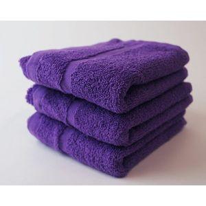 Dobrý Textil Malý uterák Economy 30x50 - Fialová vyobraziť