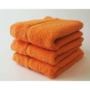 Dobrý Textil Malý uterák Economy 30x50 - Oranžová vyobraziť