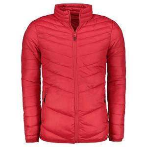 Red men's quilted jacket TX2289 vyobraziť