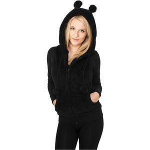 Urban Classics Ladies Teddy Vest black - XL vyobraziť