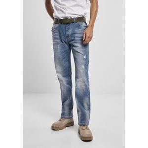 Brandit Will Washed Denim Jeans blue washed - 34/34 vyobraziť