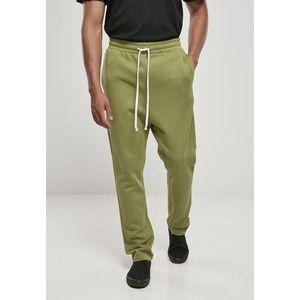 Urban Classics Organic Low Crotch Sweatpants newolive - S vyobraziť