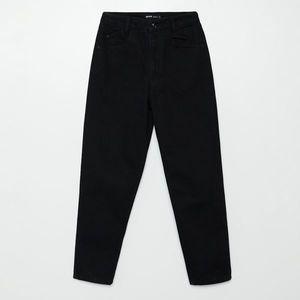 Cropp - Džínsy mom - Čierna vyobraziť